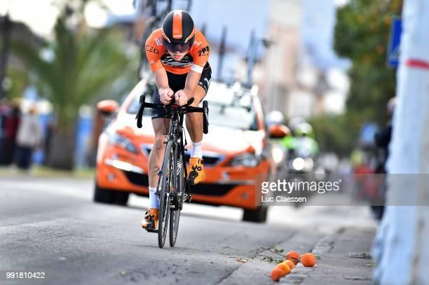 61Th Ruta Del Sol 2015 Stage 1B Individual Time Trial /Sjoerd Van Ginneken /Coria Del Rio Coria Del Rio / Itt Contre La Montre Tijdrit Vuelta A...