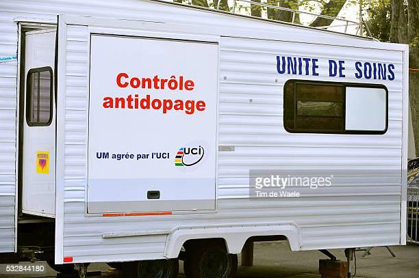 63e Tour Romandie 2009 / Prologue Illustration Illustratie / Controle Anti-Dopage Doping / UCI / Lausanne - Lausanne / Prologue Proloog / Time Trial...