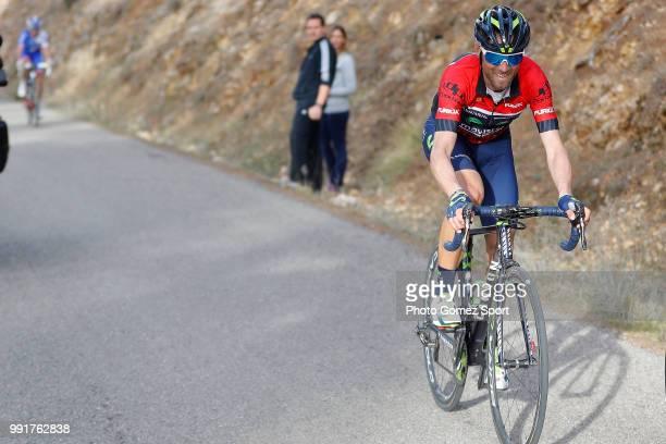 63Rd Ruta Del Sol 2017 Stage 2Alejandro Valverde Red Leader Jersey Torredonjimeno Mancha RealPeã±A Del Aguila 1299M Vuelta A Andalucia
