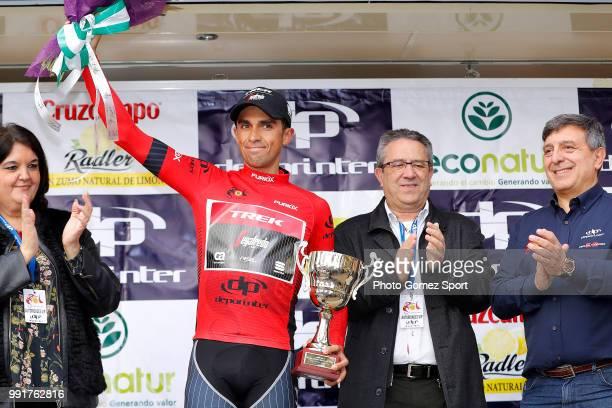 63Rd Ruta Del Sol 2017 Stage 2Podium Aberto Contador Red Leader Jersey/ Celebration Torredonjimeno Mancha RealPeã±A Del Aguila 1299M Vuelta A...