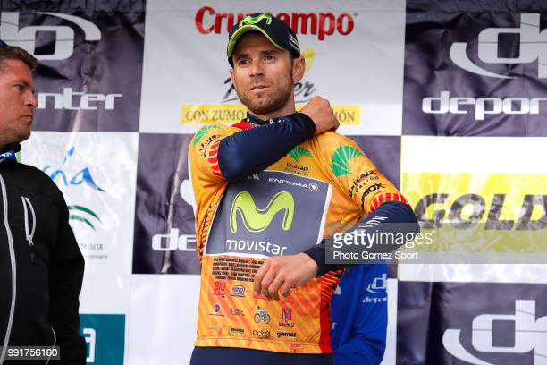 63Rd Ruta Del Sol 2017 Stage 2Podium Alejandro Valverde Celebration Torredonjimeno Mancha RealPeã±A Del Aguila 1299M Vuelta A Andalucia
