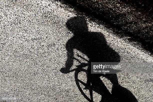 64th Tour of Spain - Vuelta / Stage 1 Illustration Illustratie / Silhouet Shadow Hombre Schaduw / TT Circuit / Assen - Assen / Time Trial Contre la...