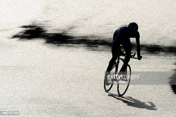 64Th Tour Of Spain Vuelta Stage 1Illustration Illustratie Silhouet Shadow Hombre Schaduw Tt Circuit Assen Assen Time Trial Contre La Montre Tijdrit...