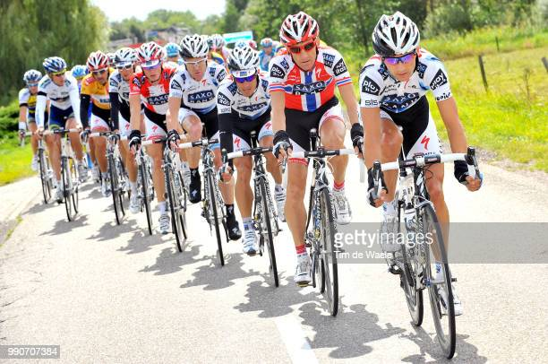64Th Tour Of Spain Vuelta Stage 2Team Saxo Bank Kroon Karsten / O'Grady Stuart / Arvesen Kurt Asle / Breschel Matti / Fuglsang Jacob / Cancellara...