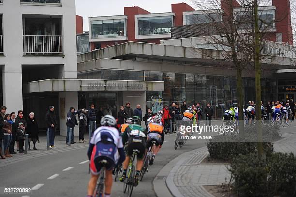 65th Kuurne - Brussel - Kuurne 2012 Illustration Illustratie / OUDENAARDE City Ville Stad / CENTRUM RONDE VAN VLAANDEREN RVV / Peleton Peloton /...