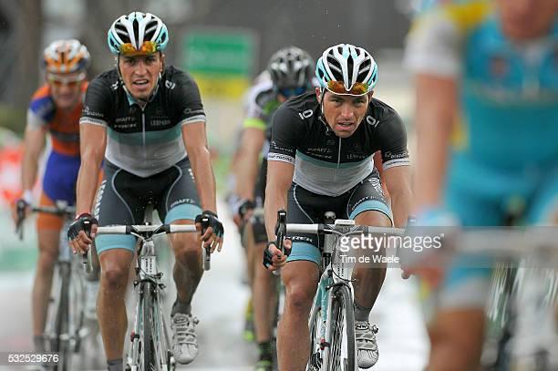 65th Tour de Romandie 2011 / Stage 1 Arrival / Oliver ZAUGG / Thomas ROHREGGER / Martigny Leysin / TDR /Tim De Waele
