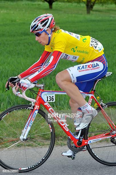 65th Tour de Romandie 2011 / Stage 2 Pavel BRUTT Yellow Jersey / Romont - Romont / TDR / Etape Rit /Tim De Waele