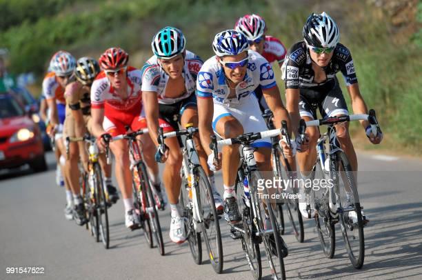 65Th Tour Of Spain 2010 Stage 10Le Mevel Christophe / Lund Anders / Tarragona Vilanova I La Geltru / Vuelta Tour D'Espagne Ronde Van Spanje Etape Rit...