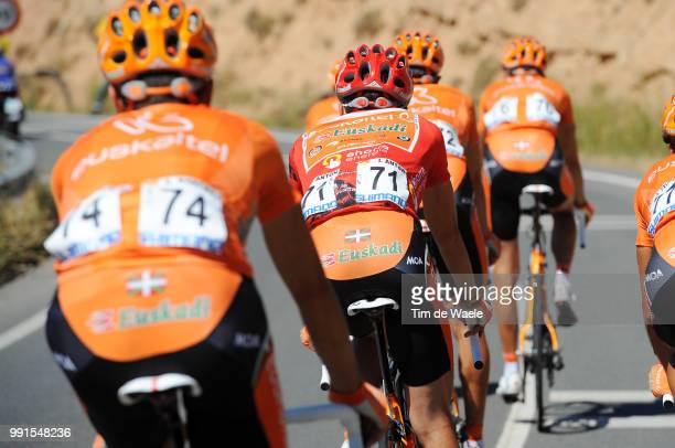 65Th Tour Of Spain 2010 Stage 13Illustration Illustratie Anton Igor Red Leader Jersey Team Euskaltel Euskadi / Rincon De Soto Burgos / Vuelta Tour...