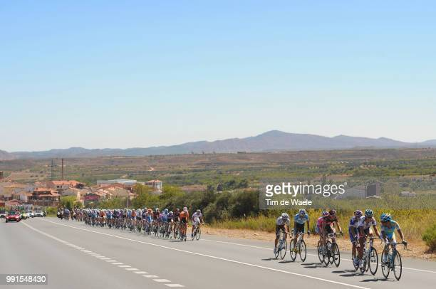 65Th Tour Of Spain 2010 Stage 13Illustration Illustratie Peleton Peloton Landscape Paysage Landschap Rioja Rincon De Soto Burgos / Vuelta Tour...