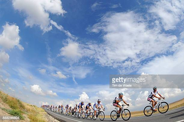 65th Tour of Spain 2010 / Stage 19 Illustration Illustratie / Peleton Peloton / Sky Ciel Lucht Hemel / Philippe GILBERT / Leif HOSTE / Landscape...