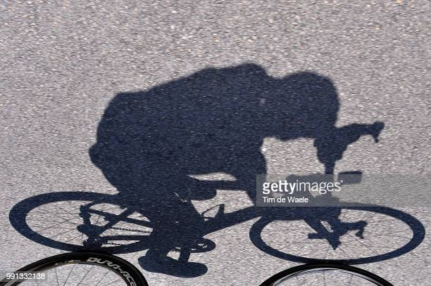 66Th Criterium Du Dauphine 2014, Stage 4 Illustration Illustratie, Froome Christopher / Shadow Hombre Schaduw, Pinarello Bike Velo Fiets, Sidi Shoe...