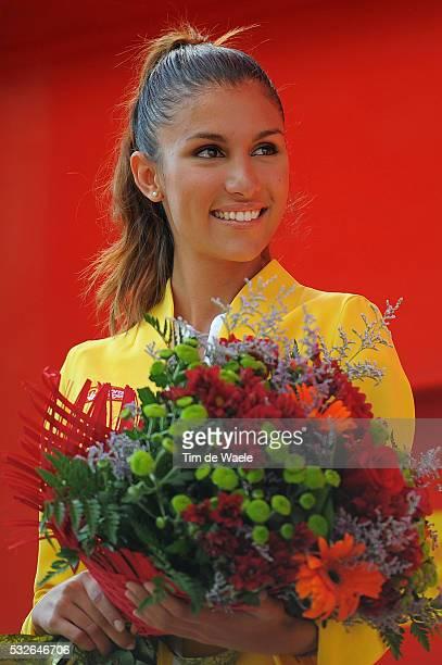 66th Tour of Spain 2011 / Stage 13 Podium / Miss Hostess Model / Illustration Illustratie / Sarria - Ponferrada / La Vuelta / Ronde van Spanje / Tour...
