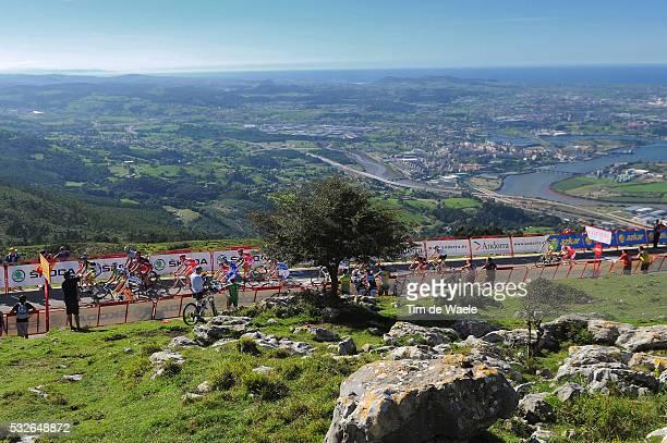 66th Tour of Spain 2011 / Stage 17 Illustration Illustratie / Santander City Ville Stad / Pena Cabarga / Peleton Peloton / Landscape Paysage...