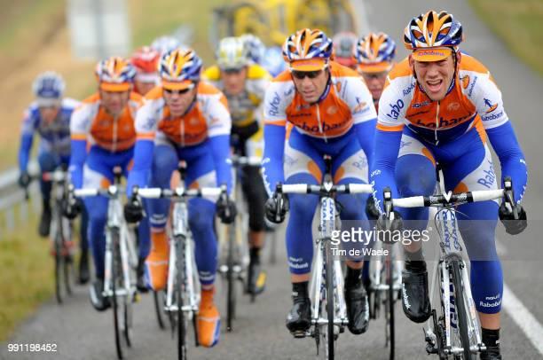 67E ParisNice Stage 3Juan Manuel Garate Sebastian Langeveld Maarten Tjallingi Bram Tankink Matthew Hayman Team Rabobank Orval Vichy Etape Rit Tim De...
