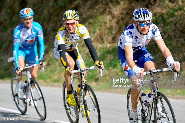 67E ParisNice Stage 5Jeremy Roy Tony Martin Thomas Voeckler Annonay VallonPontD'Arc Etape Rit Tim De Waele