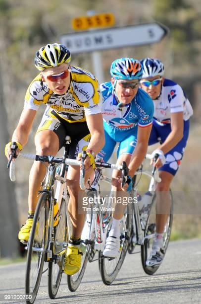 67E ParisNice Stage 5Tony Martin Thomas Voeckler Jeremy Roy Annonay VallonPontD'Arc Etape Rit Tim De Waele
