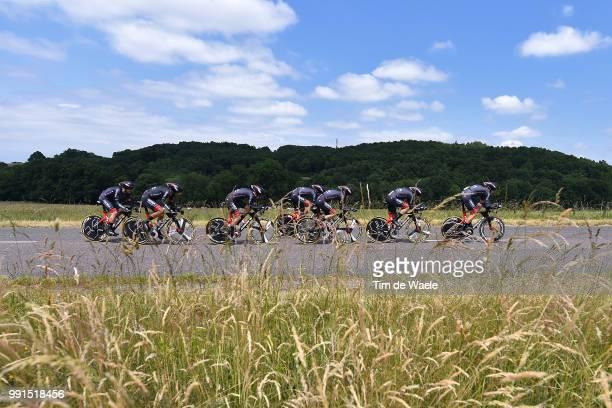67Th Criterium Du Dauphine 2015 Stage 3 Team Bora Argon / Roanne Montagny /Team Time Trial Contre La Montre Equipes Ploegentijdrit Ttt Rit Etape