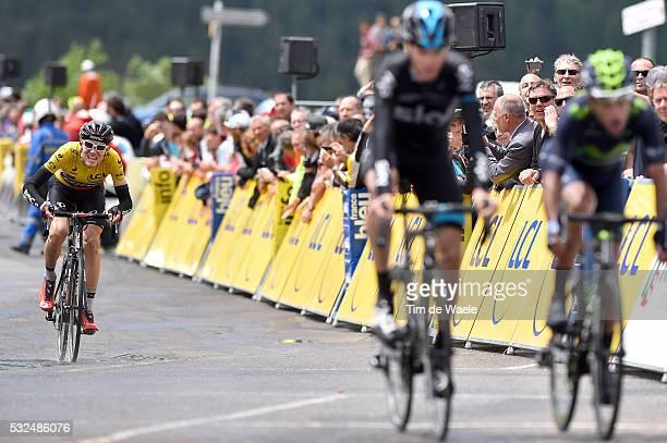 67th Criterium du Dauphine 2015 / Stage 6 Arrival / GARDEREN Tejay Yellow jersey / FROOME Christopher / INTXAUSTI Benat/ VAN SaintBonnetenChampsaur...
