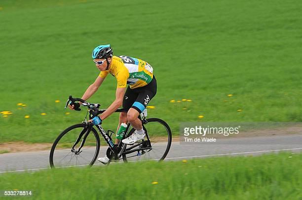 67th Tour de Romandie 2013 / Stage 3 Christopher Froome Yellow Leader Jersey / Payerne Payerne / Ronde Rit Etape TDR /Tim De Waele