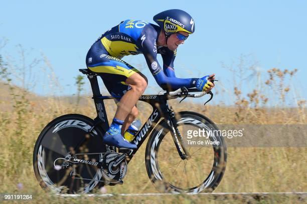 68Th Tour Of Spain 2013 Stage 11 Sorensen Chris Anker / Tarazona Tarazona / Vuelta Ronde Van Spanje Time Trial Contre La Montre Tijdrit Tt ©Tim De...