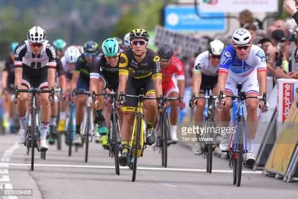 69th Criterium du Dauphine 2017 / Stage 3 Arrival / Bryan COQUARD / Arnaud DEMARE / Pascal ACKERMANN / Phil BAUHAUS / Le ChambonsurLignon Tullins /
