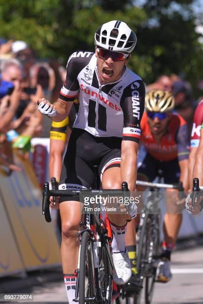 69th Criterium du Dauphine 2017 / Stage 5 Arrival / Phil BAUHAUS Celebration / La TourdeSalvagny Macon /