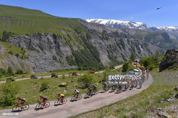 69th Criterium du Dauphine 2017 / Stage 7 Landscape / Richie PORTE Yellow Leader Jersey / Team BMC Racing Team / Peloton / Mountains / Aoste Alpe...