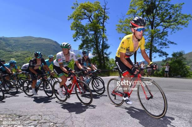 69th Criterium du Dauphine 2017 / Stage 7 Richie PORTE Yellow Leader Jersey / Nicolas ROCHE / Aoste Alpe d'Huez 1850m /