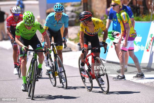 69th Criterium du Dauphine 2017 / Stage 7 Richie PORTE Yellow Leader Jersey / Jakob FUGLSANG / Andrew TALANSKY / Alberto CONTADOR / Aoste Alpe d'Huez...