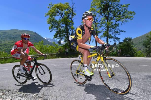 69th Criterium du Dauphine 2017 / Stage 7 Thomas VOECKLER / Aoste Alpe d'Huez 1850m /