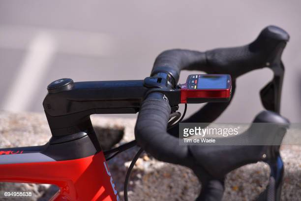 69th Criterium du Dauphine 2017 / Stage 8 Illustration / BMC Bike/ Handle Bar / SMR Power meter/ Amael MOINARD / Albertville Plateau de Solaison...