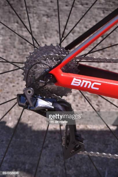 69th Criterium du Dauphine 2017 / Stage 8 Illustration / Gear/ BMC Bike/ Amael MOINARD / Albertville Plateau de Solaison 1508m /