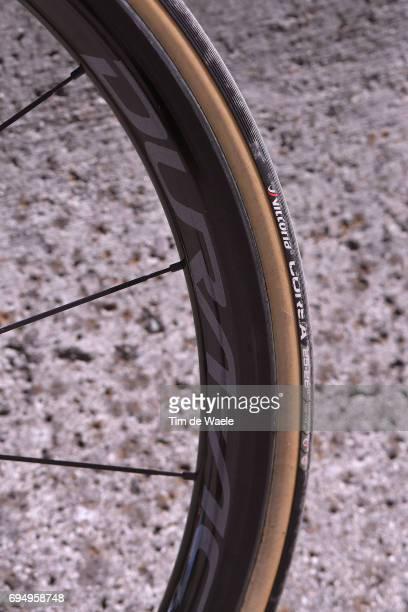 69th Criterium du Dauphine 2017 / Stage 8 Illustration / Vittoria Tire Wheel / BMC Bike/ Amael MOINARD / Albertville Plateau de Solaison 1508m /