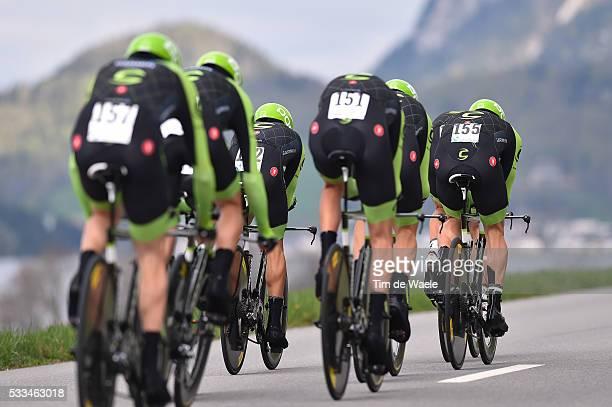 69th Tour de Romandie 2015 / Stage 1 Team Cannondale-Garmin / Vallee De Joux - Juraparc / Team Time Trial / Contre la Montre Equipes / Ploegentijdrit...