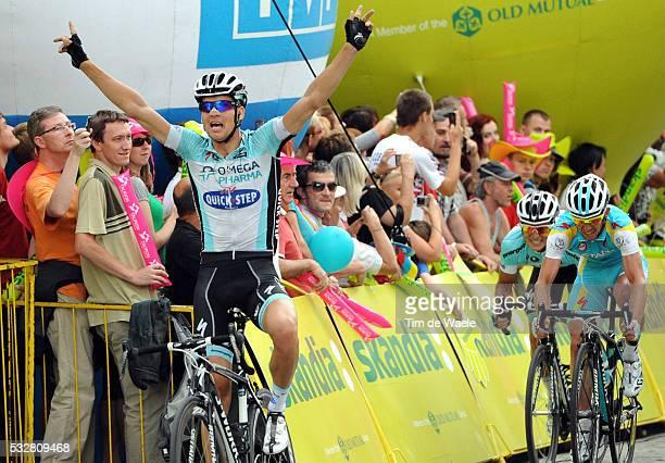 69th Tour of Poland / Stage 3 Arrival/ Zdenek STYBAR Celebration Joie Vreugde / Kedzierzyn Cieszyn / Tour de Pologne Ronde van Polen / Rit Stage /Tim...