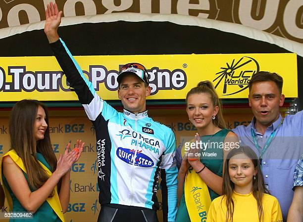 69th Tour of Poland / Stage 3 Podium/ Zdenek STYBAR Celebration Joie Vreugde / Kedzierzyn Cieszyn / Tour de Pologne Ronde van Polen / Rit Stage /Tim...