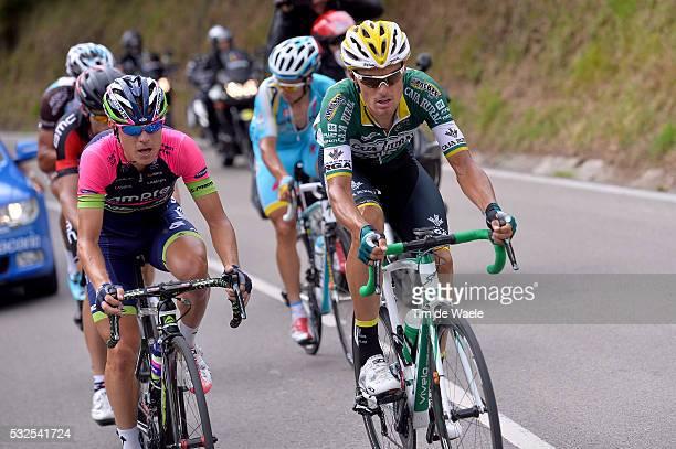 69th Tour of Spain 2014 / Stage 13 CUNEGO Damiano / SANCHEZ Luis Leon / WYSS Danilo / GAUDIN Damien / LUTSENKO Alexey / Belorado Obregon Parque De...