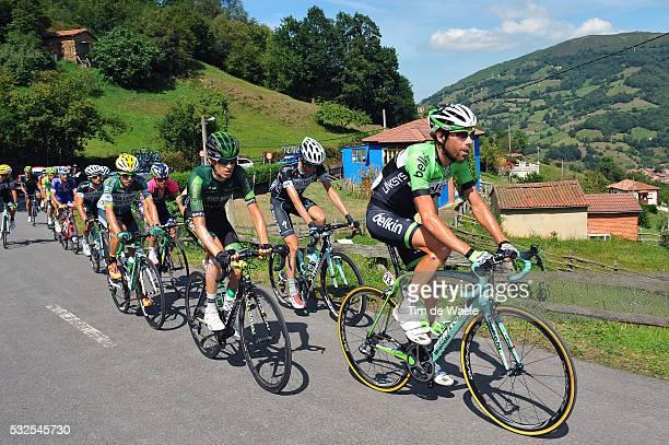 69th Tour of Spain 2014 / Stage 16 TEN DAM Laurens / SICARD Romain / San Martin Del Rey Aurelio La Farrapona Lagos De Somiedo 1705m / Vuelta Tour...