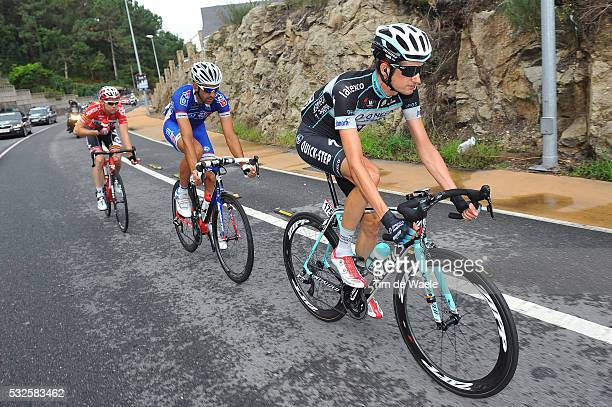 69th Tour of Spain 2014 / Stage 19 POELS Wout / MANGEL Laurent / LIGTHART Pim / Salvaterra Do Mino Cangas Do Morrazo / Vuelta Tour d'Espagne Ronde...