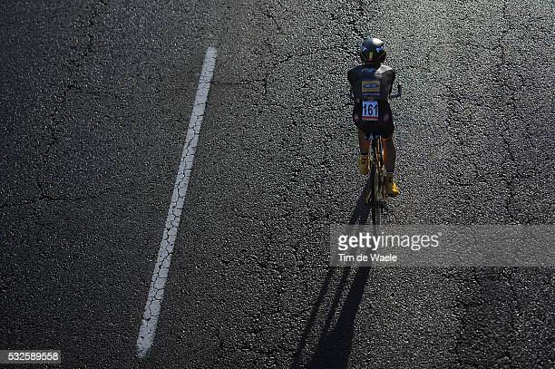 69th Tour of Spain 2014 / Stage 21 Illustration Illustratie / PARDILLA Sergio / Silhouet / Santiago De Compostela Santiago De Compostela El Final Del...