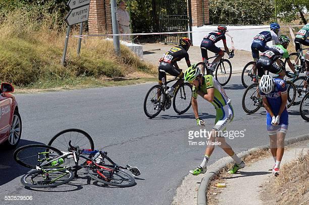 69th Tour of Spain 2014 / Stage 7 BENNETT George / ELISSONDE Kenny / Crash Chute Val / Alhendin Alcaudete / Vuelta Tour d'Espagne Ronde van Spanje /...