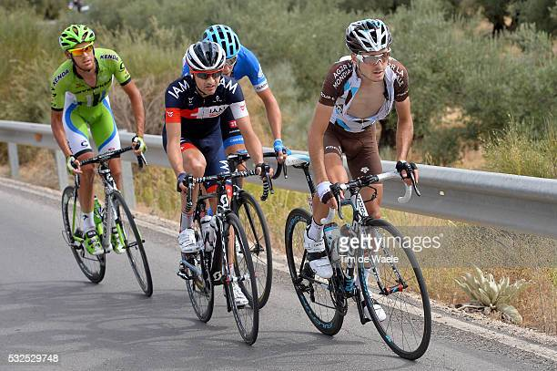 69th Tour of Spain 2014 / Stage 7 DUPONT Hubert / TSCHOPP Johann / DE MARCHI Alessandro / HESJEDAL Ryder / Alhendin Alcaudete / Vuelta Tour d'Espagne...
