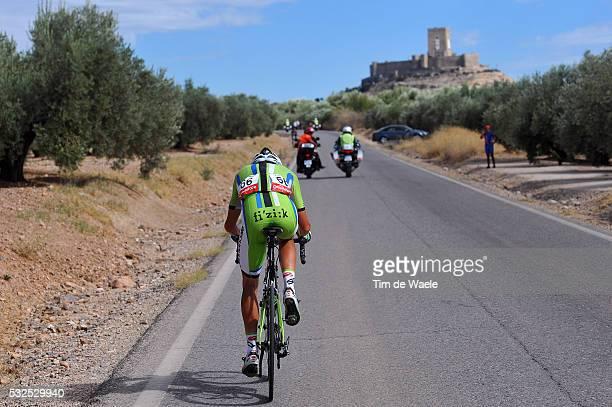 69th Tour of Spain 2014 / Stage 7 Illustration Illustratie / DE MARCHI Alessandro / ALCAUDETE Castle Chateau Kasteel / Landscape Paysage Landschap /...