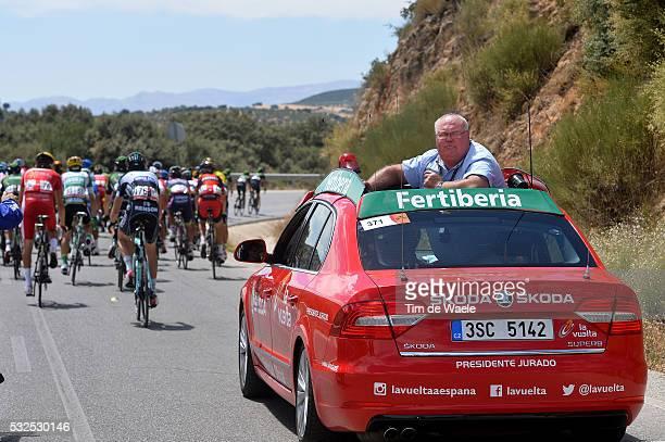 69th Tour of Spain 2014 / Stage 7 Jean Michel VOETS UCI Commisaire Jury / Alhendin Alcaudete / Vuelta Tour d'Espagne Ronde van Spanje / Etape Rit /...