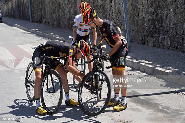 69th Tour of Spain 2014 / Stage 7 PARDILLA Sergio / MEINTJES Louis / JANSE VAN RENSBURG Jacques / Mechanical Problem Probleem / Alhendin Alcaudete /...