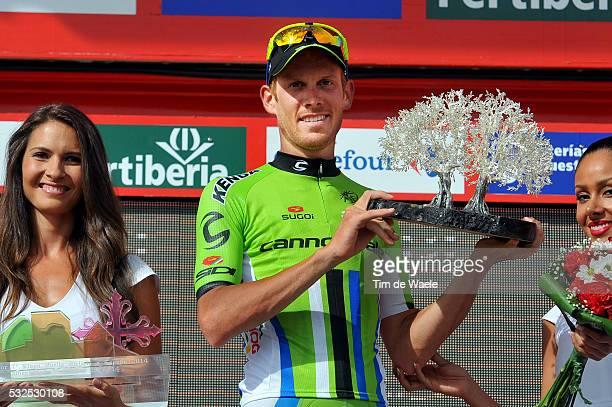 69th Tour of Spain 2014 / Stage 7 Podium / DE MARCHI Alessandro / Celebration Joie Vreugde / Alhendin Alcaudete / Vuelta Tour d'Espagne Ronde van...