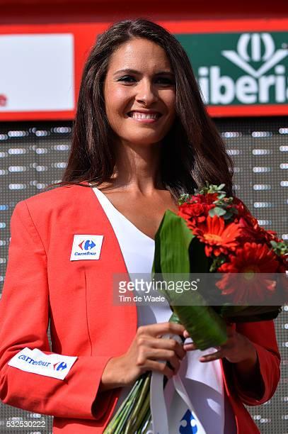 69th Tour of Spain 2014 / Stage 7 Podium / Miss Hostess Model / Alhendin Alcaudete / Vuelta Tour d'Espagne Ronde van Spanje / Etape Rit / Tim De Waele