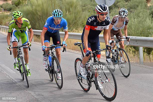 69th Tour of Spain 2014 / Stage 7 TSCHOPP Johann / DE MARCHI Alessandro / HESJEDAL Ryder / DUPONT Hubert / Alhendin Alcaudete / Vuelta Tour d'Espagne...