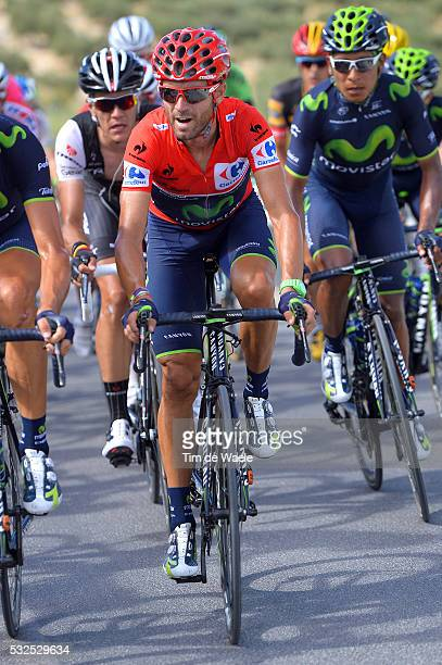 69th Tour of Spain 2014 / Stage 7 VALVERDE Alejandro Red Leader Jersey / Alhendin Alcaudete / Vuelta Tour d'Espagne Ronde van Spanje / Etape Rit /...